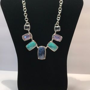 Jeweled Necklace & Earrings